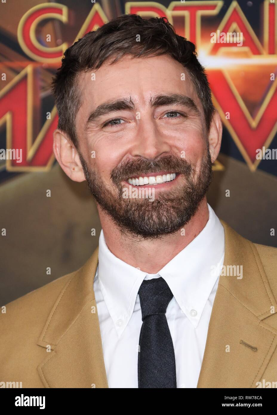 HOLLYWOOD, LOS ANGELES, CA, USA - MARCH 04: Actor Lee Pace