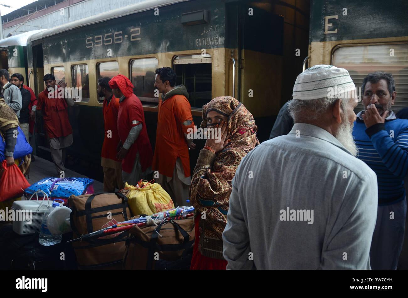 Lahore, Pakistan  04th Mar, 2019  Amid tension between