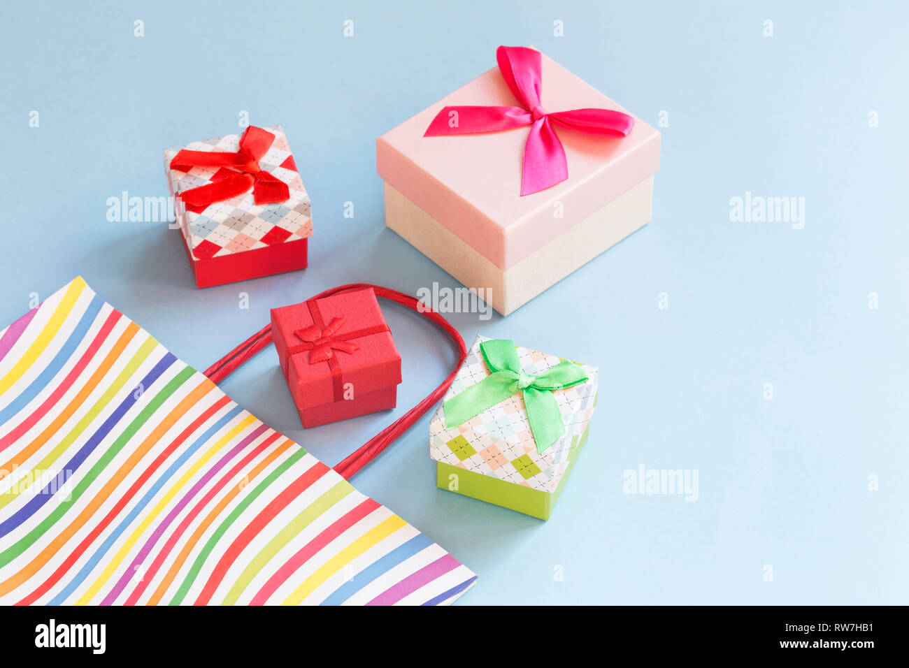 Decorative Gift Boxes Stock Photos Decorative Gift Boxes Stock