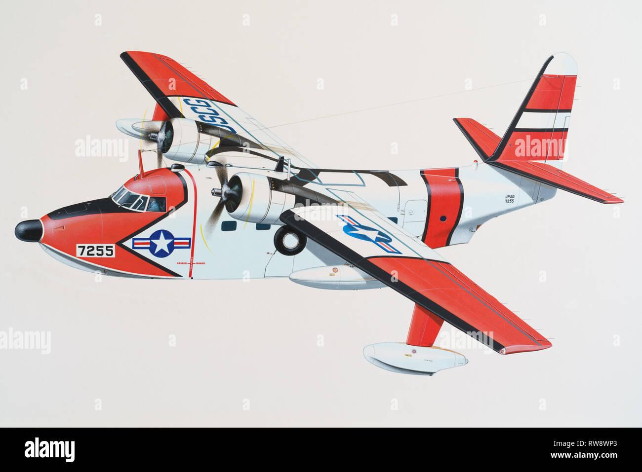 Airplane illustration Stock Photo