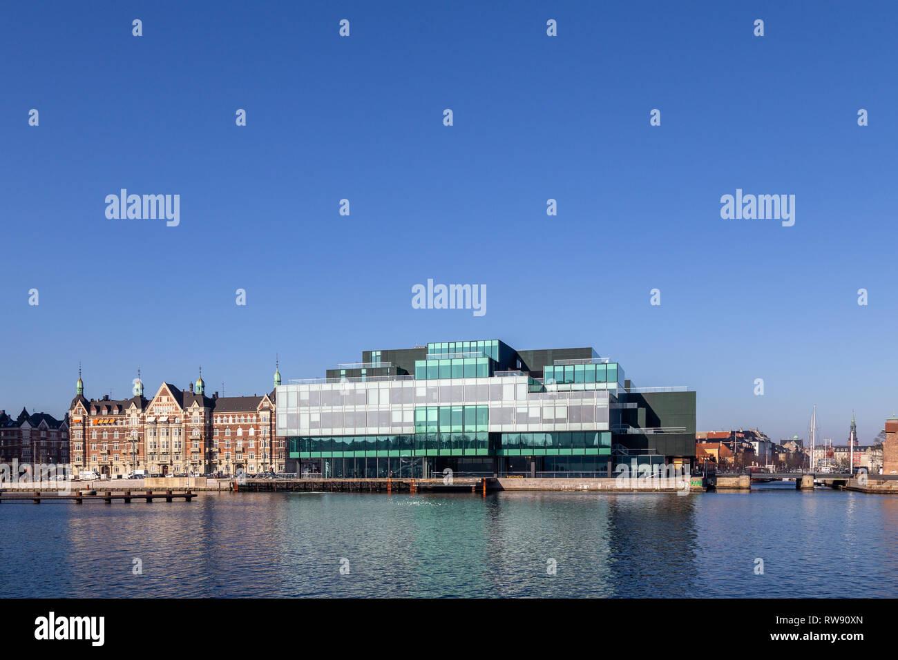 Danish Architecture Center DAC in Copenhagen, Denmark - Stock Image