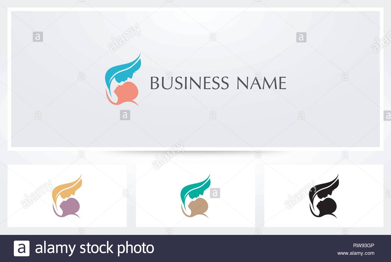 Mother Baby Care Logo - Stock Vector