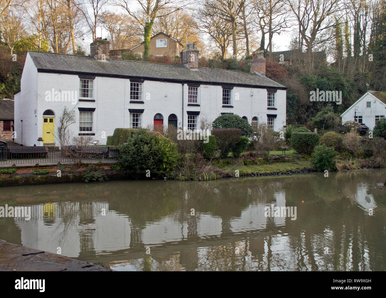 The Grove, Lymm Cheshire - Stock Image
