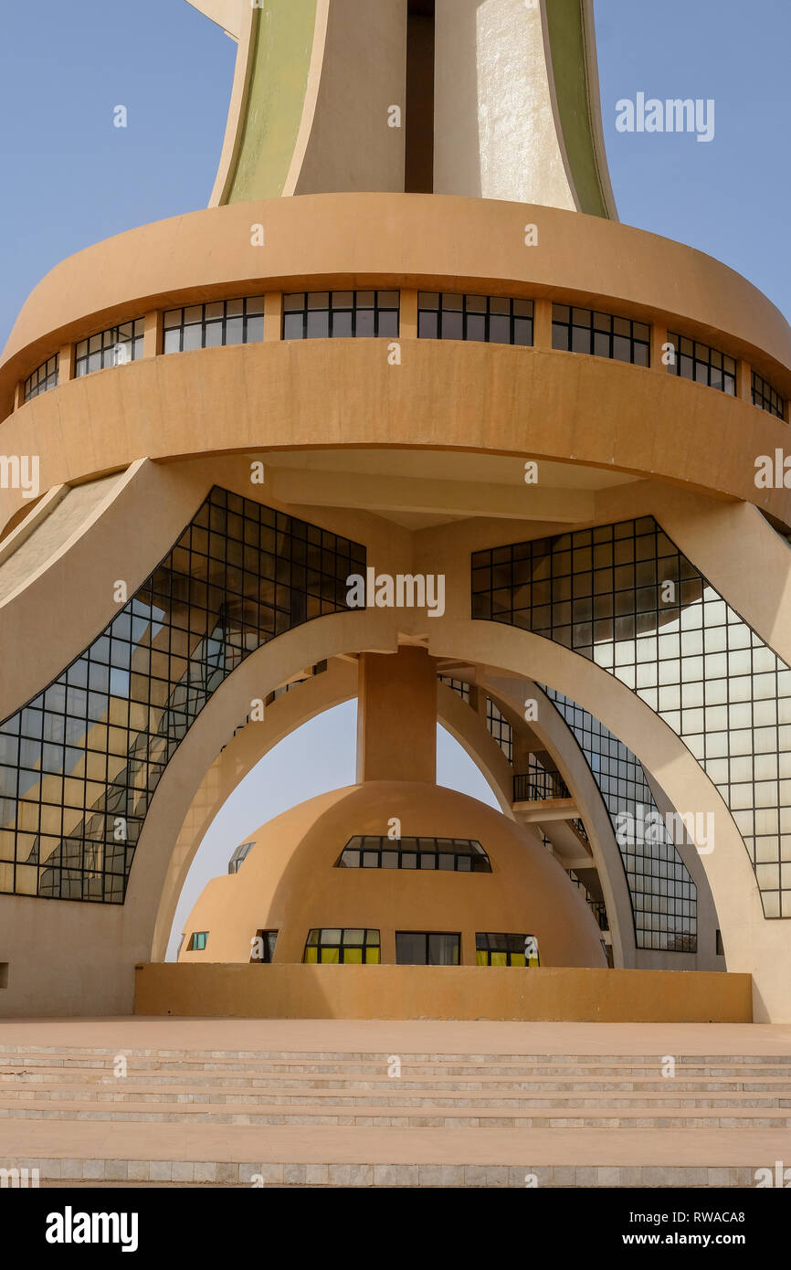 A View Of The Monument Of National Heroes In Ouagadougou The Capital Of Burkina Faso Stock Photo Alamy