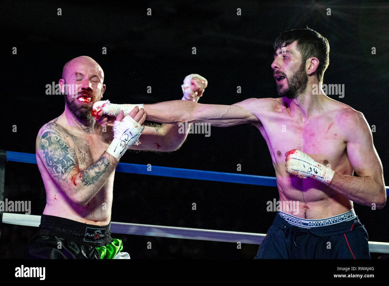 Bare Knuckle Boxing High Resolution Stock Photography And Images Alamy