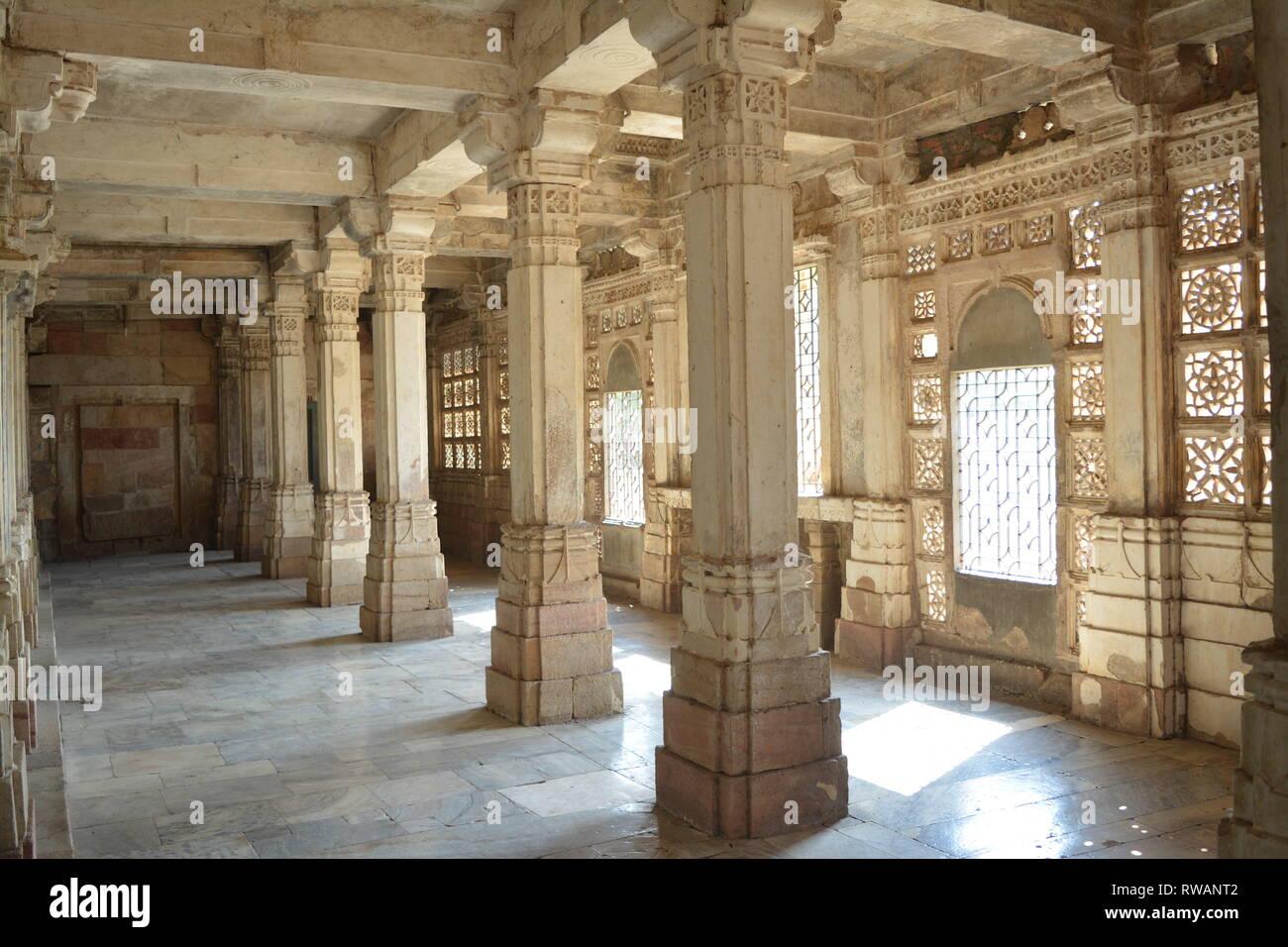 Sarkhej Roza since 1451 - Stock Image