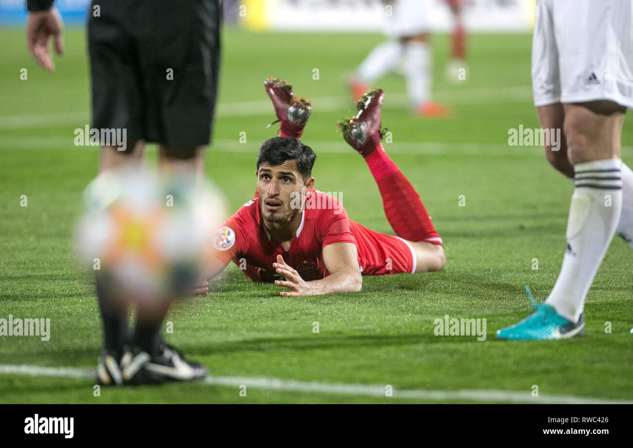Tehran Iran 5th Mar 2019 Ali Alipour Of Persepolis Reacts During The Afc Champions League Group