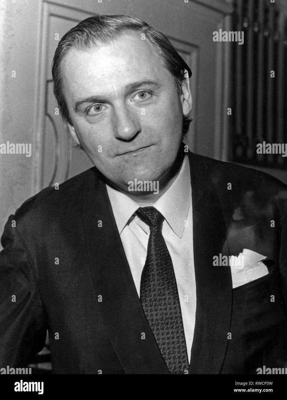 Demus, Jörg, * 2.12.1928, Austrian musician (pianist), 1960s, Additional-Rights-Clearance-Info-Not-Available - Stock Image