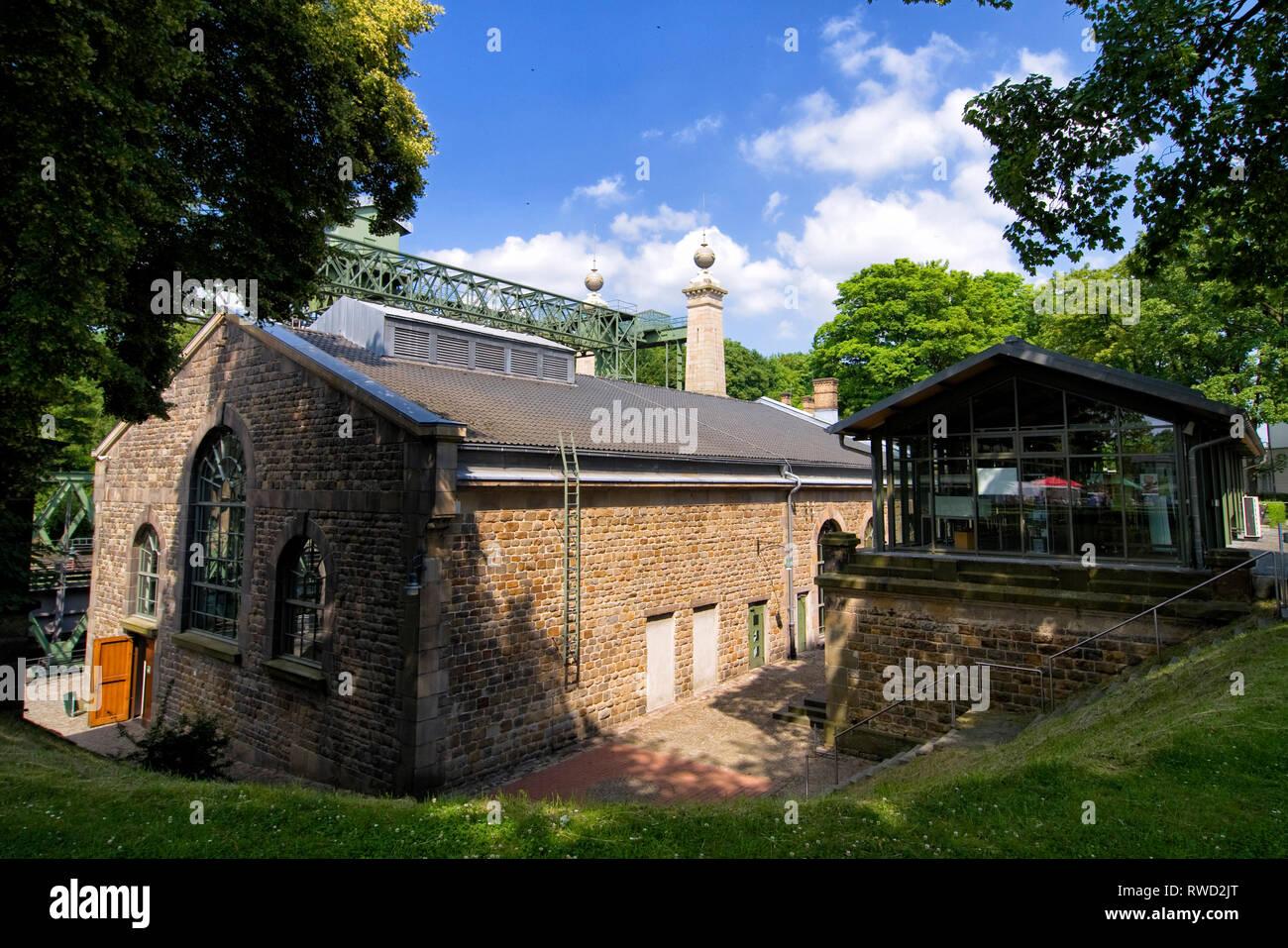 Historisches Schiffshebewerk am Dortmund-Ems-Kanal Henrichenburg - Stock Image