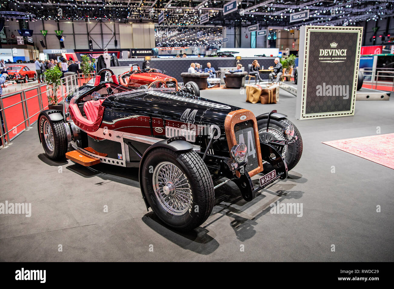 Devinci  oldtimers presented during the 2019 Geneva International Motor Show on Tuesday, March 5th, 2019. (CTK Photo/Josef Horazny) - Stock Image