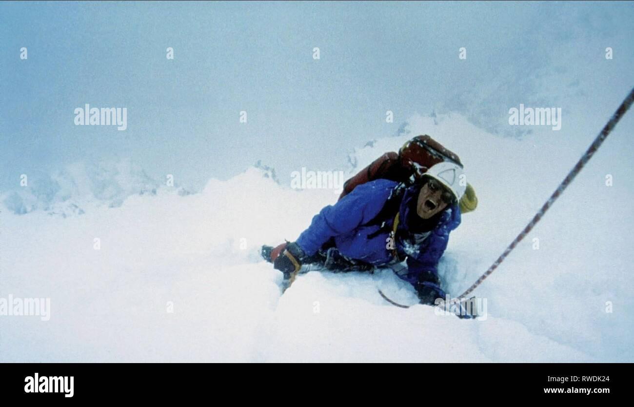 BRENDAN MACKEY, TOUCHING THE VOID, 2003 - Stock Image