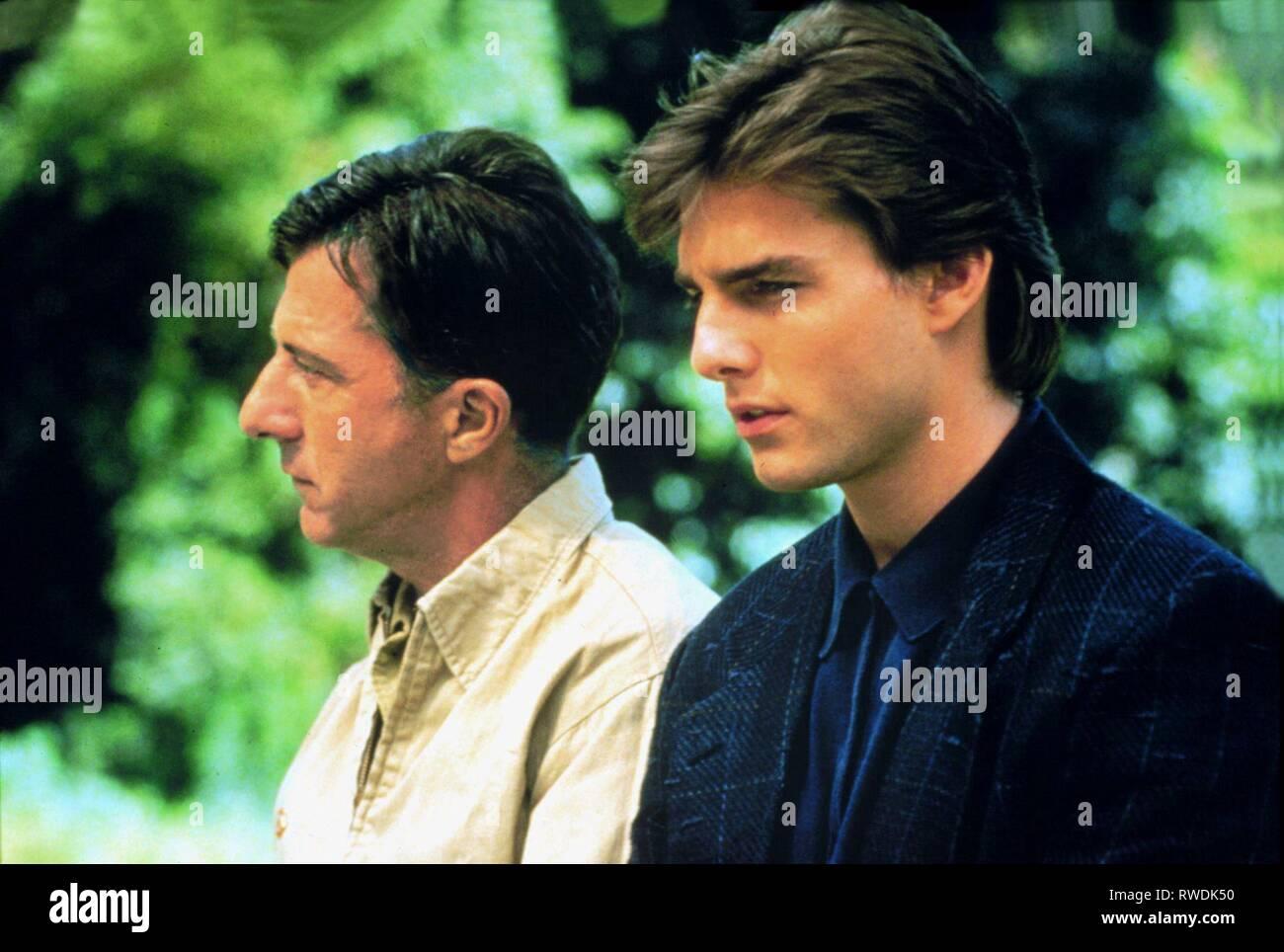Hoffman Cruise Rain Man 1988 Stock Photo Alamy