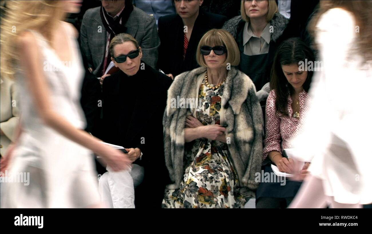 ANNA WINTOUR, THE SEPTEMBER ISSUE, 2009 - Stock Image