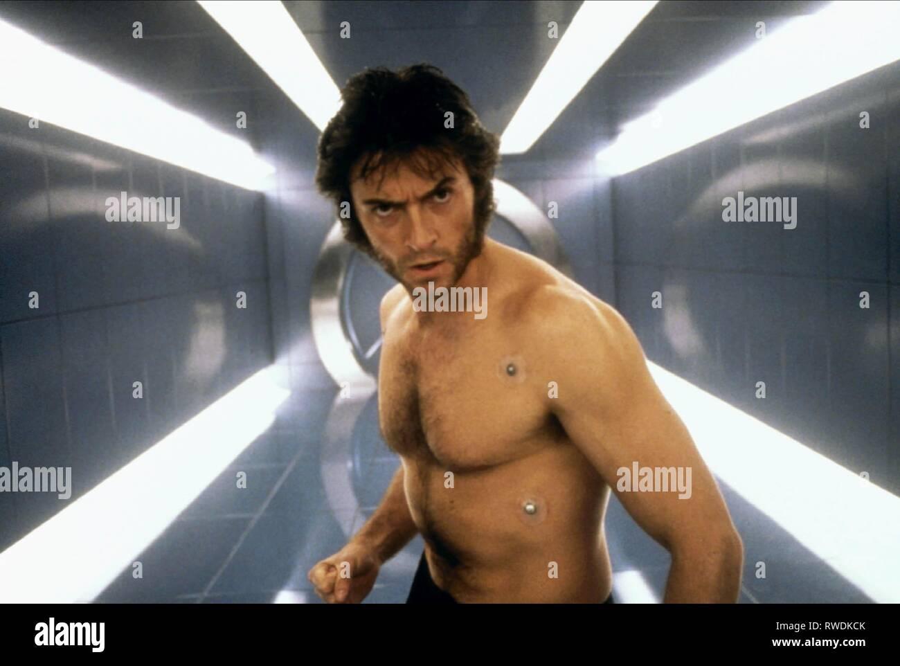 HUGH JACKMAN, X-MEN, 2000 - Stock Image