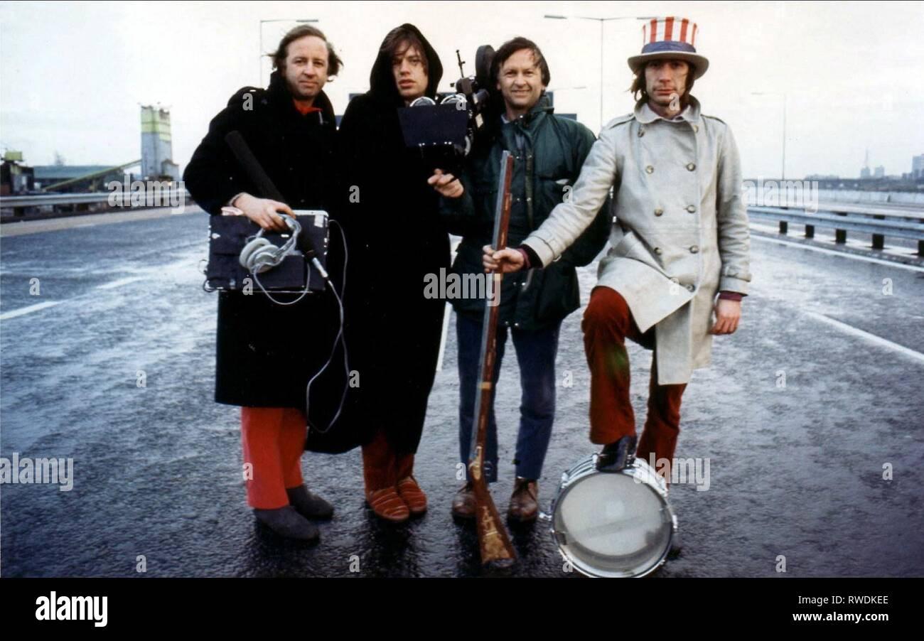 MAYSLES,JAGGER,MAYSLES,WATTS, GIMME SHELTER, 1970 - Stock Image