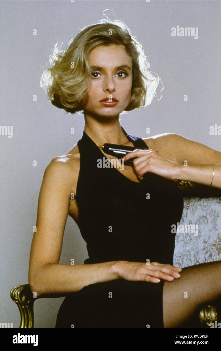 MARYAM D'ABO,  THE LIVING DAYLIGHTS, 1987 - Stock Image