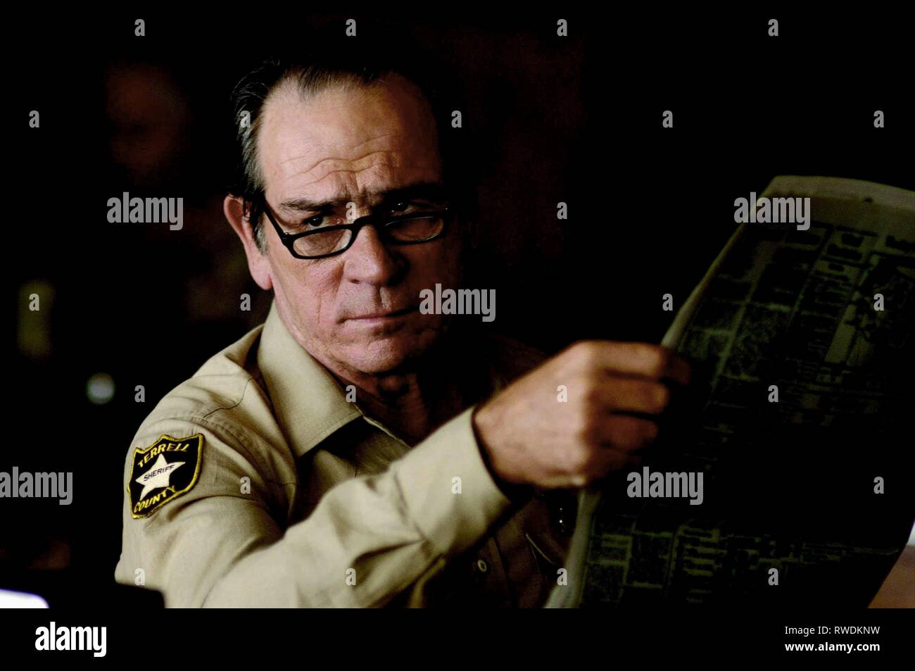 TOMMY LEE JONES, NO COUNTRY FOR OLD MEN, 2007 - Stock Image