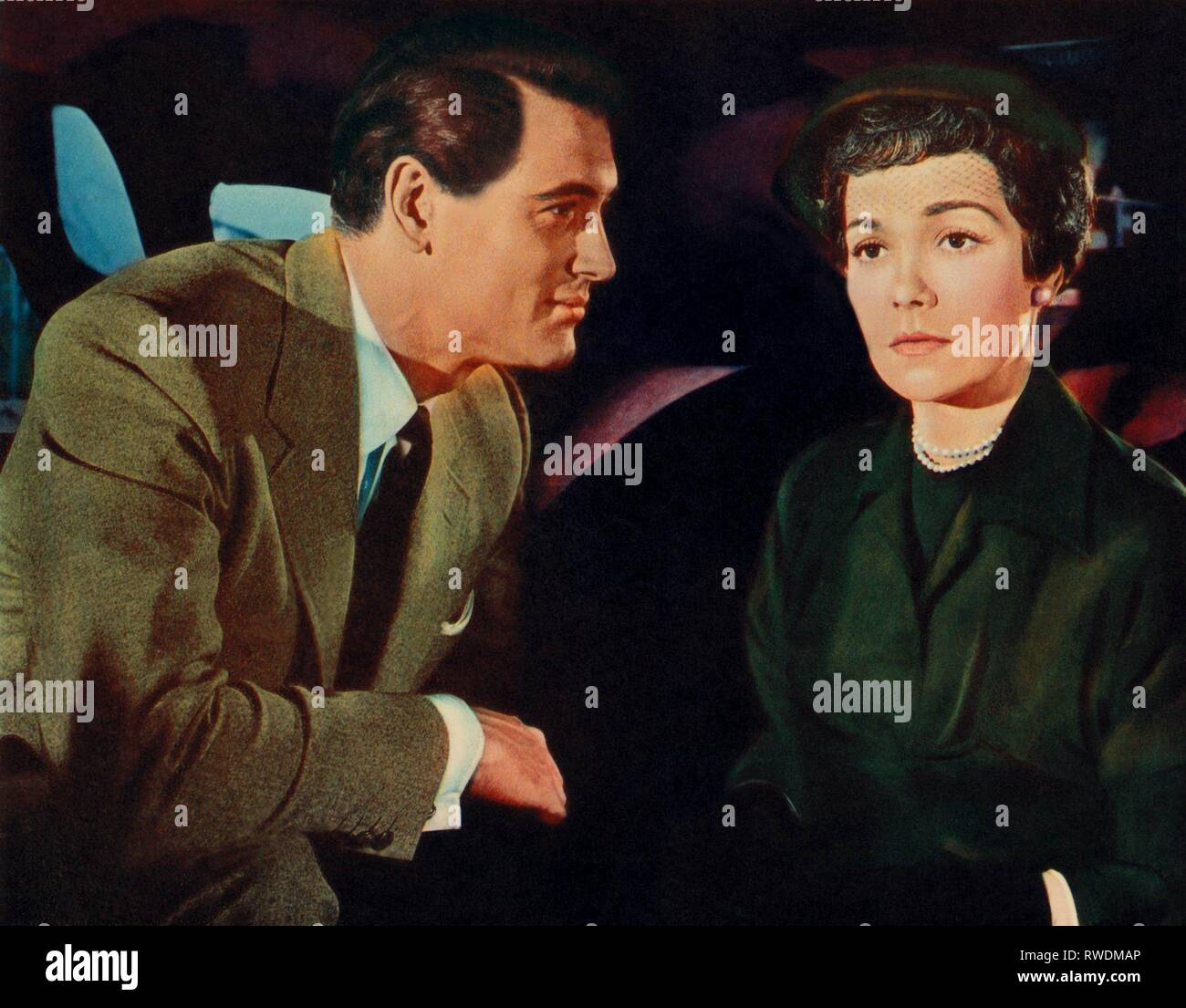 HUDSON,WYMAN, MAGNIFICENT OBSESSION, 1954 - Stock Image