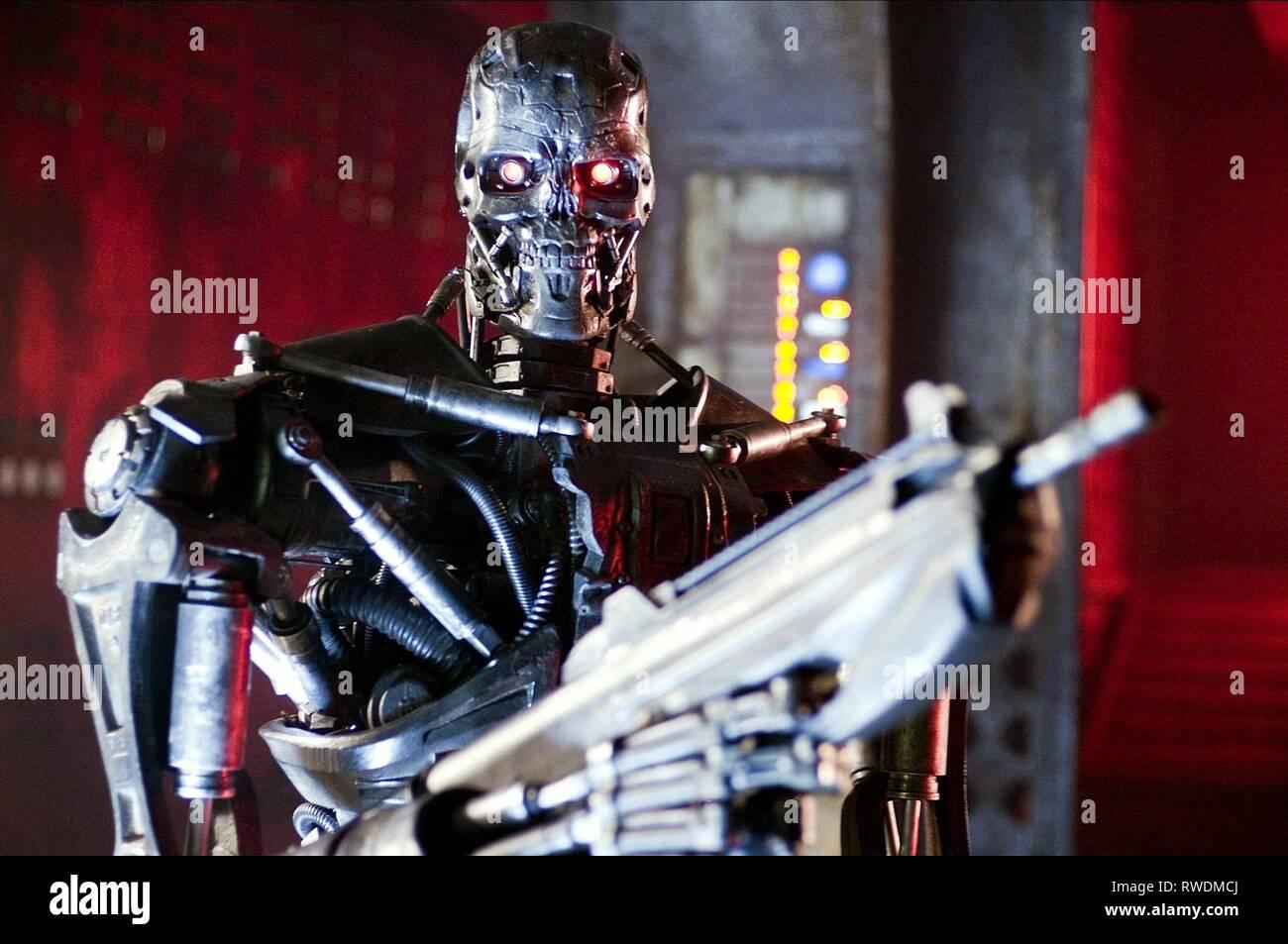 T Series Terminator Terminator Salvation 2009 Stock Photo Alamy