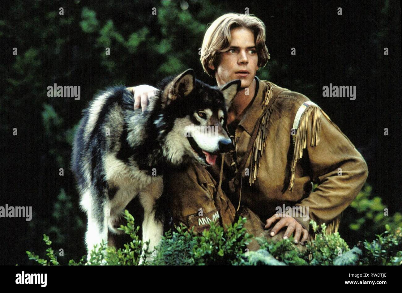 SCOTT BAIRSTOW, WHITE FANG 2: MYTH OF THE WHITE WOLF, 1994 Stock Photo