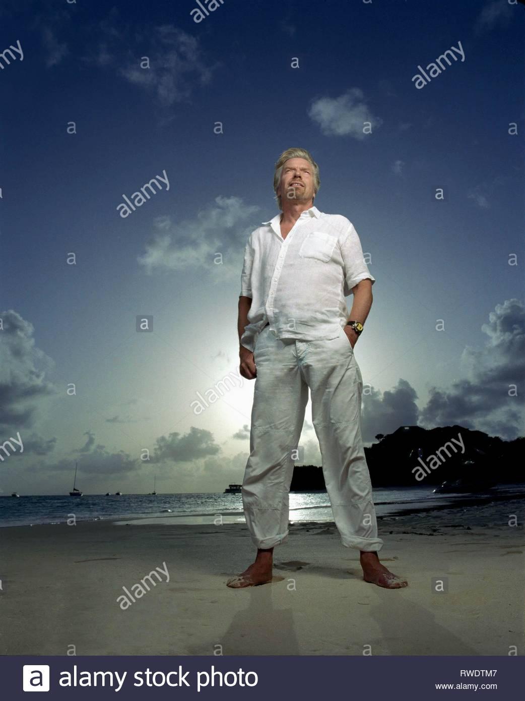 RICHARD BRANSON, THE REBEL BILLIONAIRE: BRANSON'S QUEST FOR THE BEST  , 2004 - Stock Image