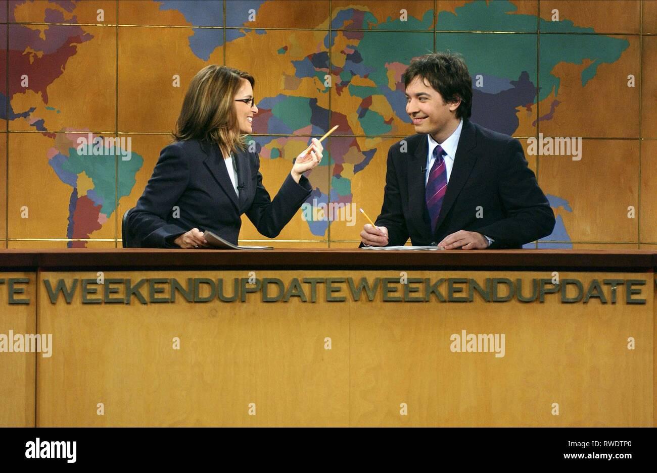 FEY,FALLON, SATURDAY NIGHT LIVE, 2003 - Stock Image