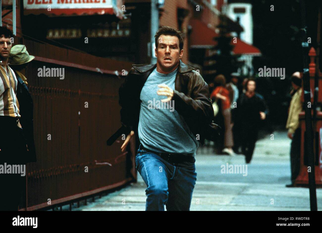 DENNIS QUAID, FREQUENCY, 2000 - Stock Image