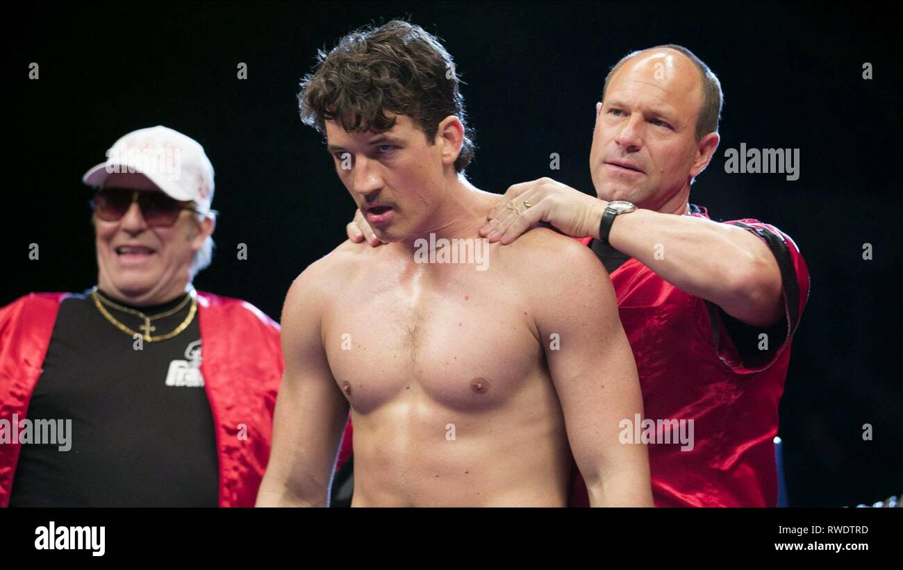 HINDS,TELLER,ECKHART, BLEED FOR THIS, 2016 - Stock Image