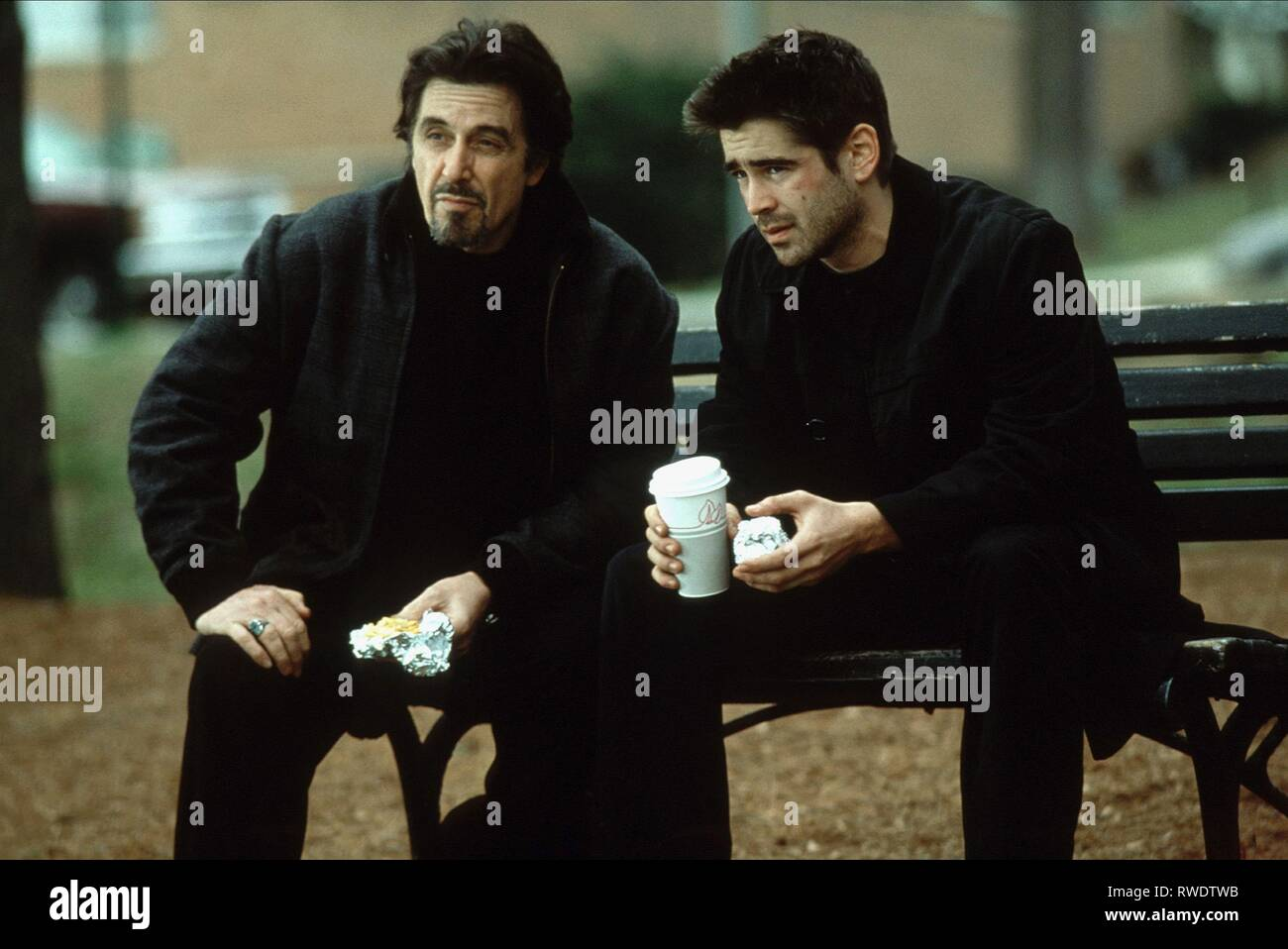 PACINO,FARRELL, THE RECRUIT, 2003 - Stock Image