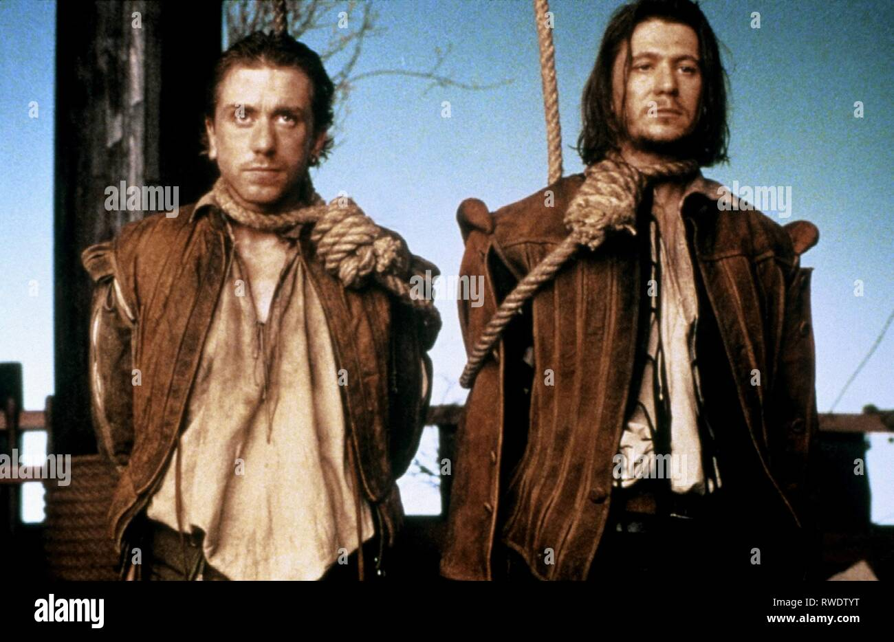 ROTH,OLDMAN, ROSENCRANTZ and GUILDENSTERN ARE DEAD, 1990 - Stock Image