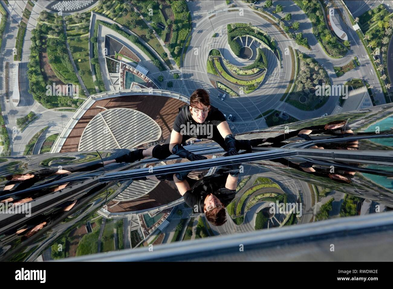TOM CRUISE, MISSION: IMPOSSIBLE - GHOST PROTOCOL, 2011 - Stock Image