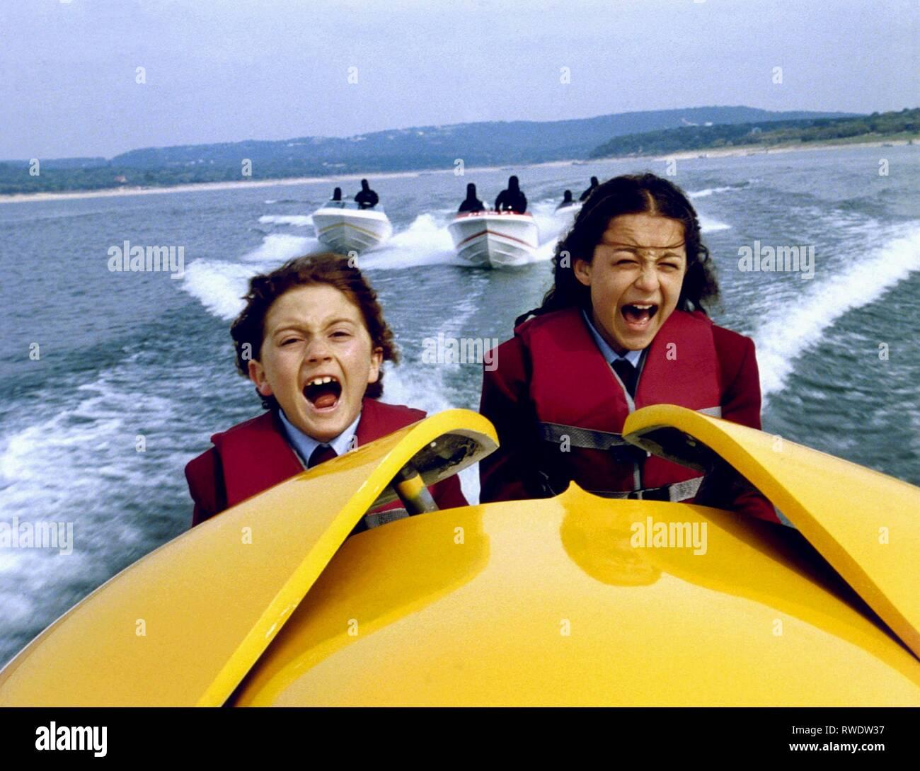 SABARA,VEGA, SPY KIDS, 2001 - Stock Image