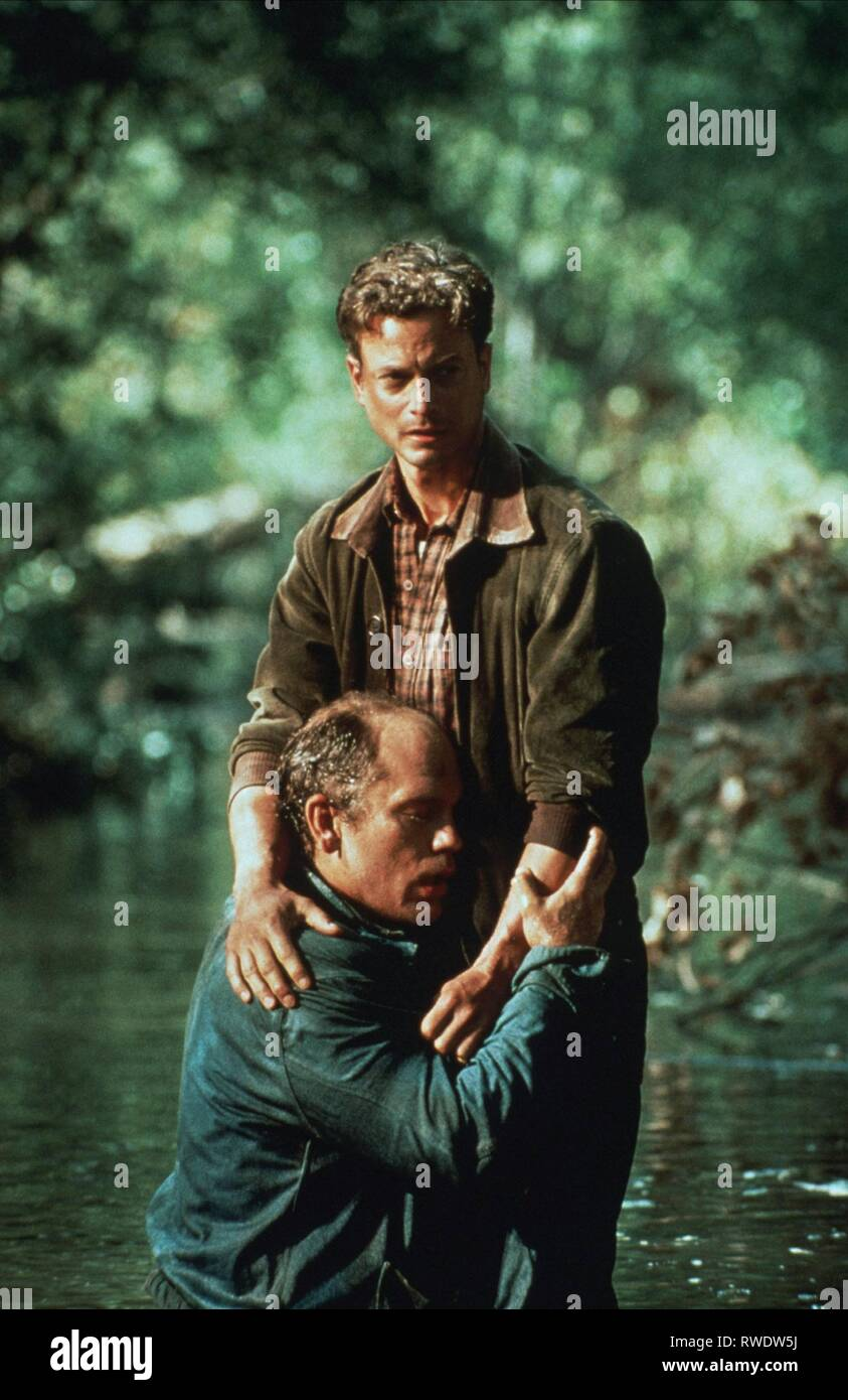 MALKOVICH,SINISE, OF MICE AND MEN, 1992 - Stock Image