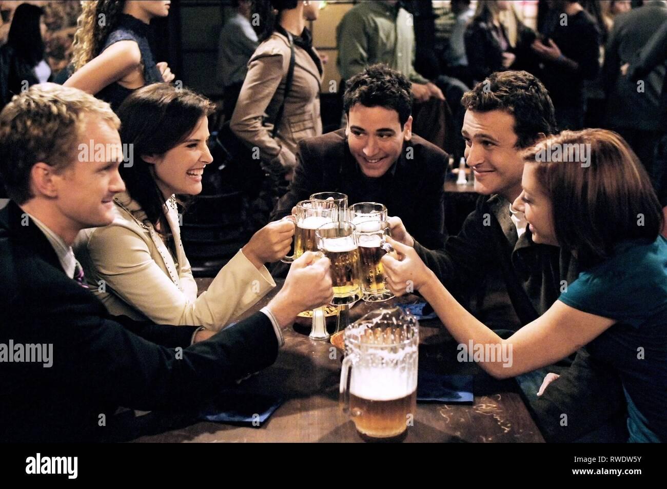 HARRIS,SMULDERS,RADNOR,SEGEL,HANNIGAN, HOW I MET YOUR MOTHER, 2005 - Stock Image
