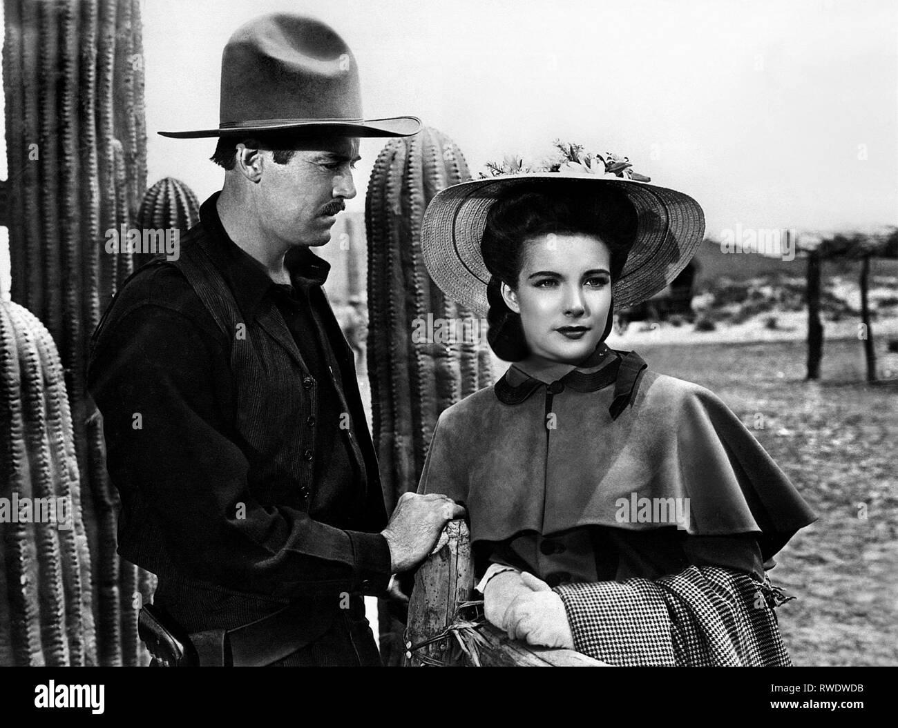 FONDA,DOWNS, MY DARLING CLEMENTINE, 1946 - Stock Image