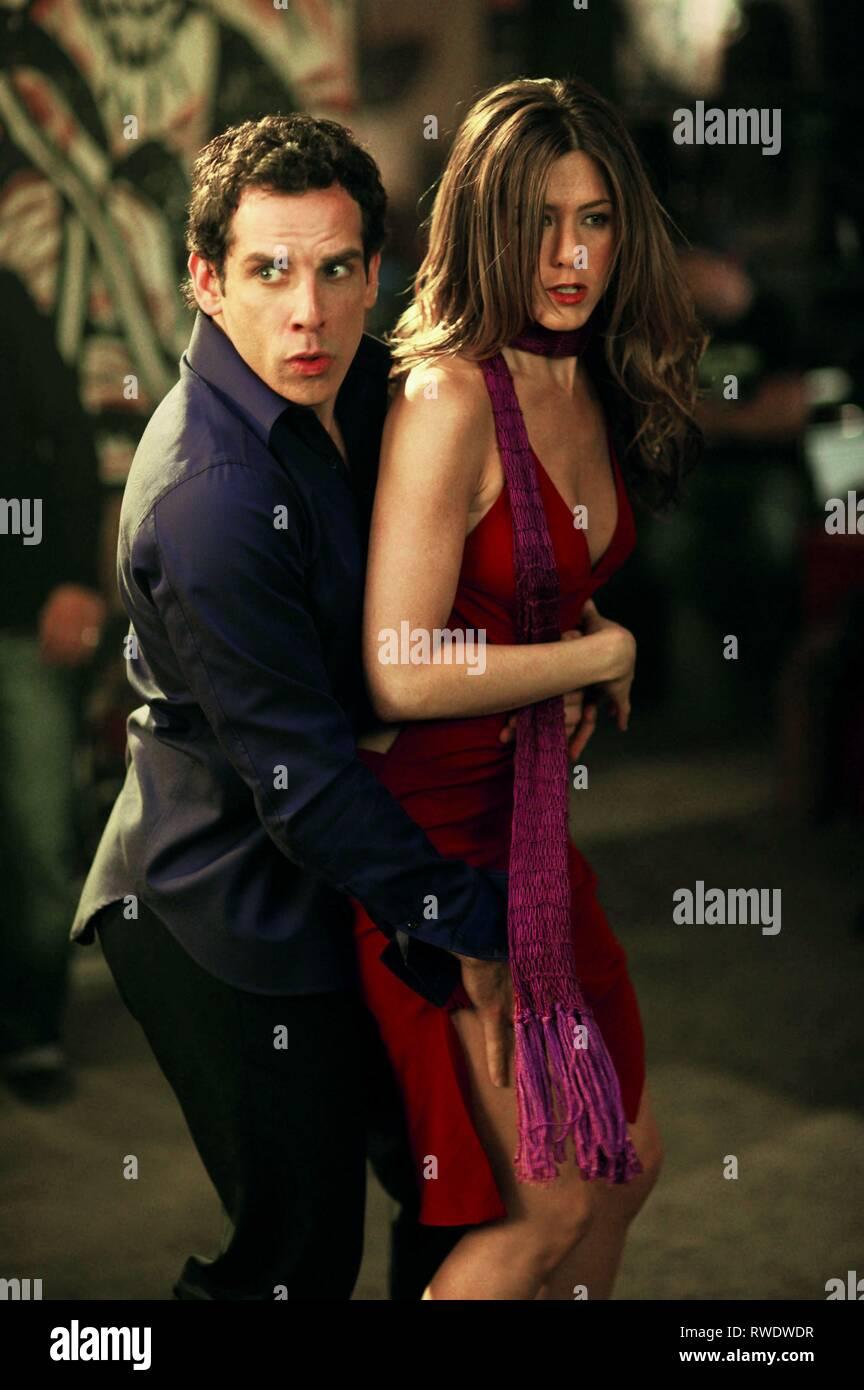 Stiller Aniston Along Came Polly 2004 Stock Photo Alamy