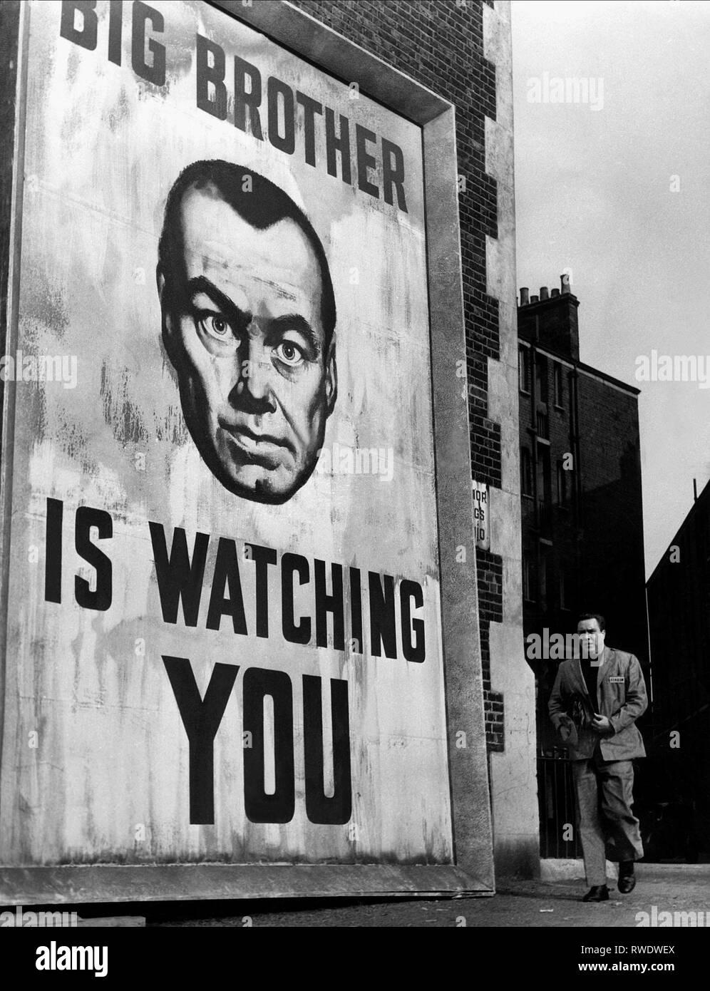 EDMOND O'BRIEN, 1984, 1956 - Stock Image