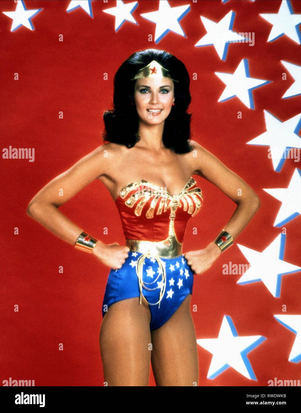 LYNDA CARTER, WONDER WOMAN, 1975 - Stock Image