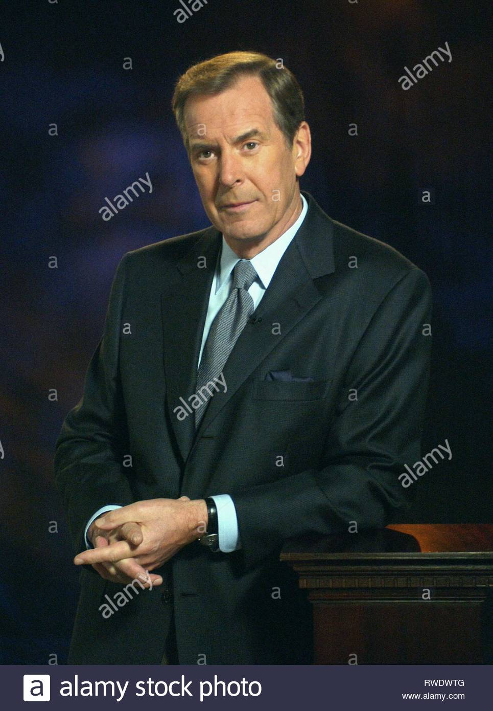 PETER JENNINGS, PETER JENNINGS REPORTING: THE KENNEDY ASSASSINATION - BEYOND CONSPIRACY, 2003 - Stock Image