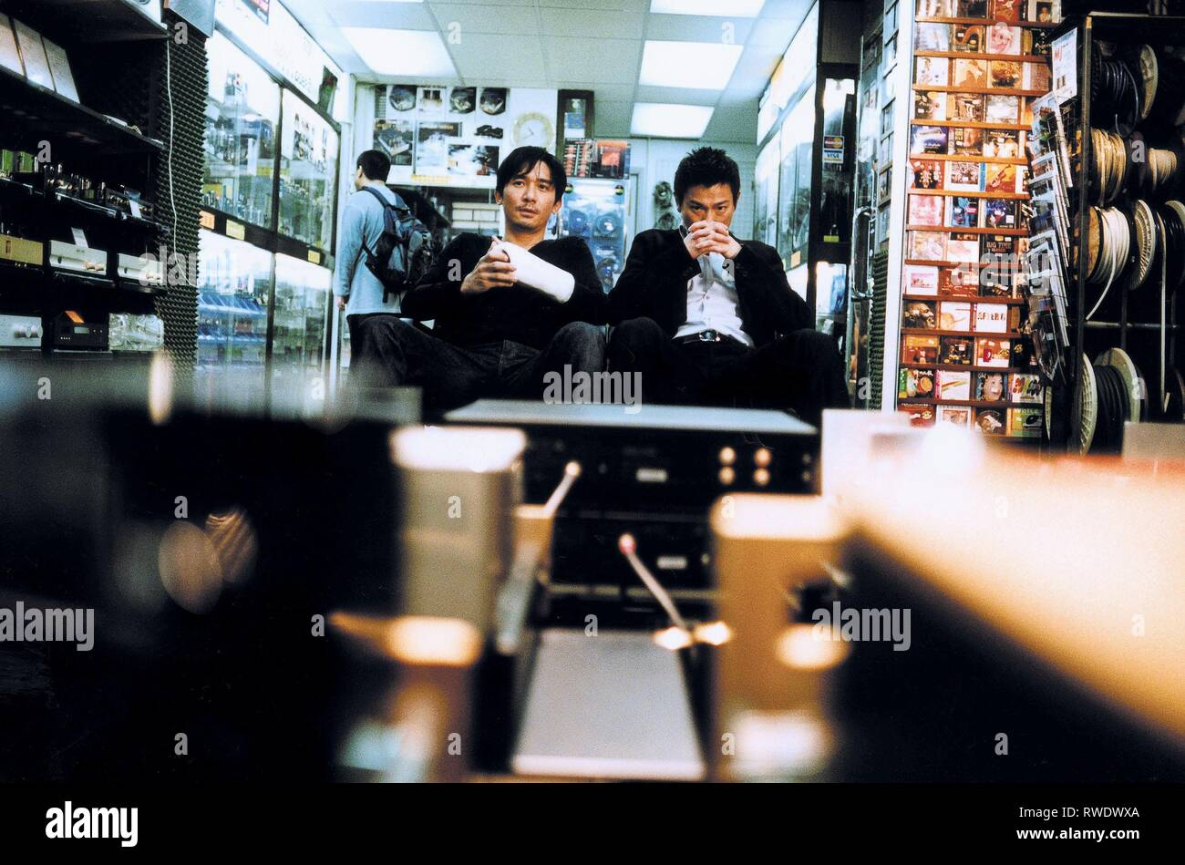 WAI,LAU, INFERNAL AFFAIRS, 2002 - Stock Image