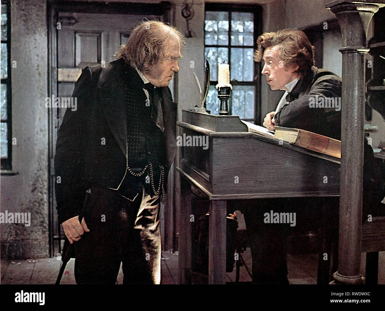 FINNEY,COLLINGS, SCROOGE, 1970 - Stock Image