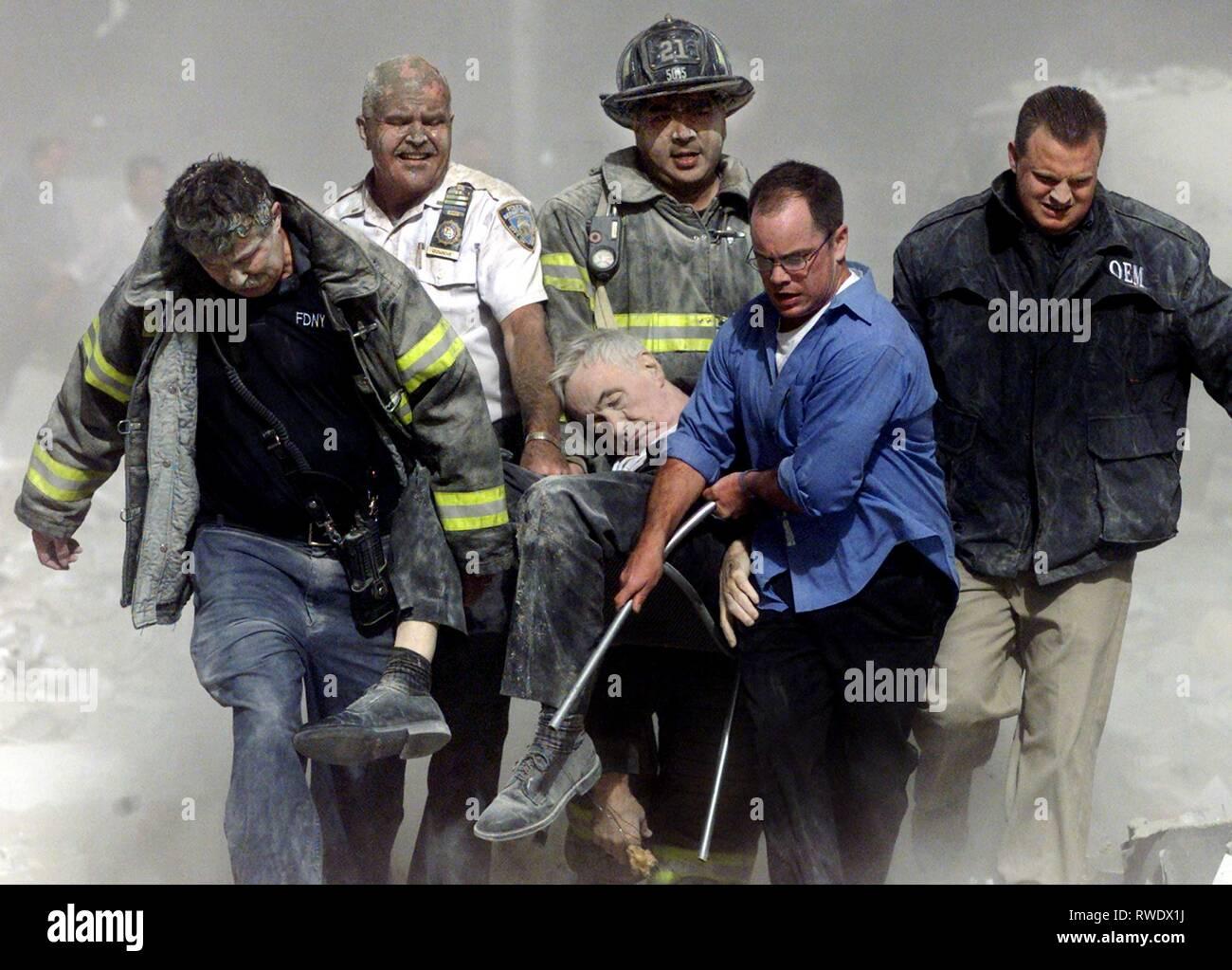 JUDGE,RESCUERS, SAINT OF 9/11, 2006 - Stock Image