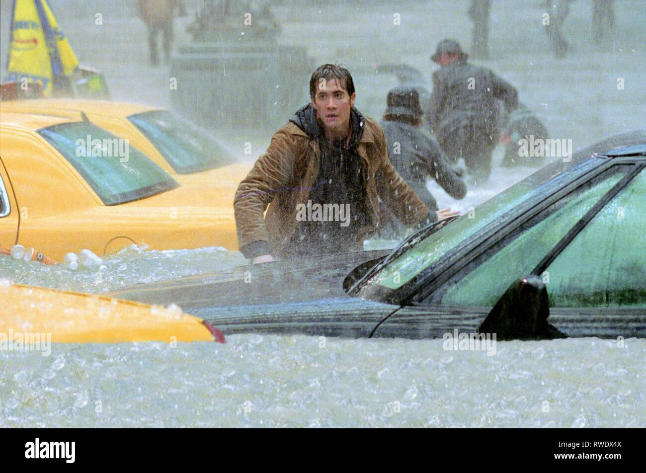 JAKE GYLLENHAAL, THE DAY AFTER TOMORROW, 2004 - Stock Image