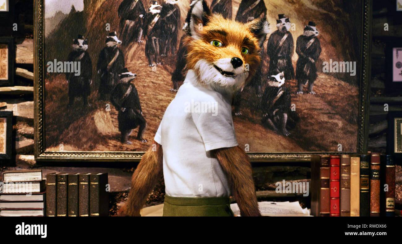 MR. FOX, THE FANTASTIC MR. FOX, 2009 - Stock Image