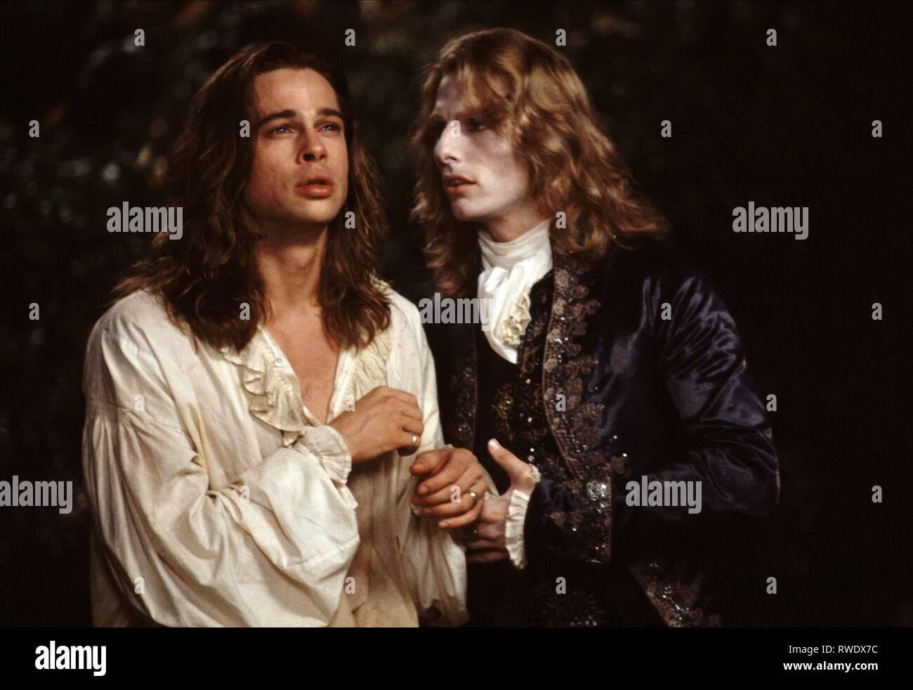 Pitt Cruise Interview With The Vampire The Vampire Chronicles 1994 Stock Photo Alamy