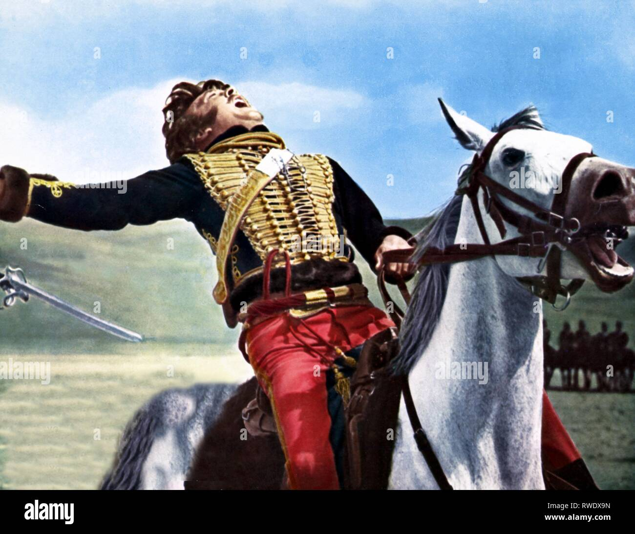 DAVID HEMMINGS, THE CHARGE OF THE LIGHT BRIGADE, 1968 - Stock Image