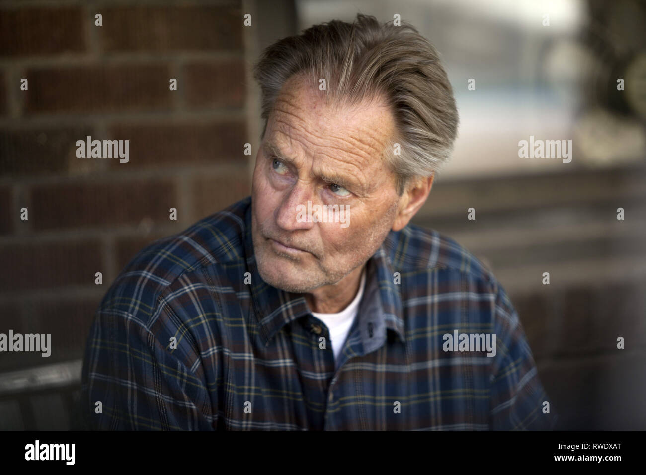 SAM SHEPARD, OUT OF THE FURNACE, 2013 - Stock Image