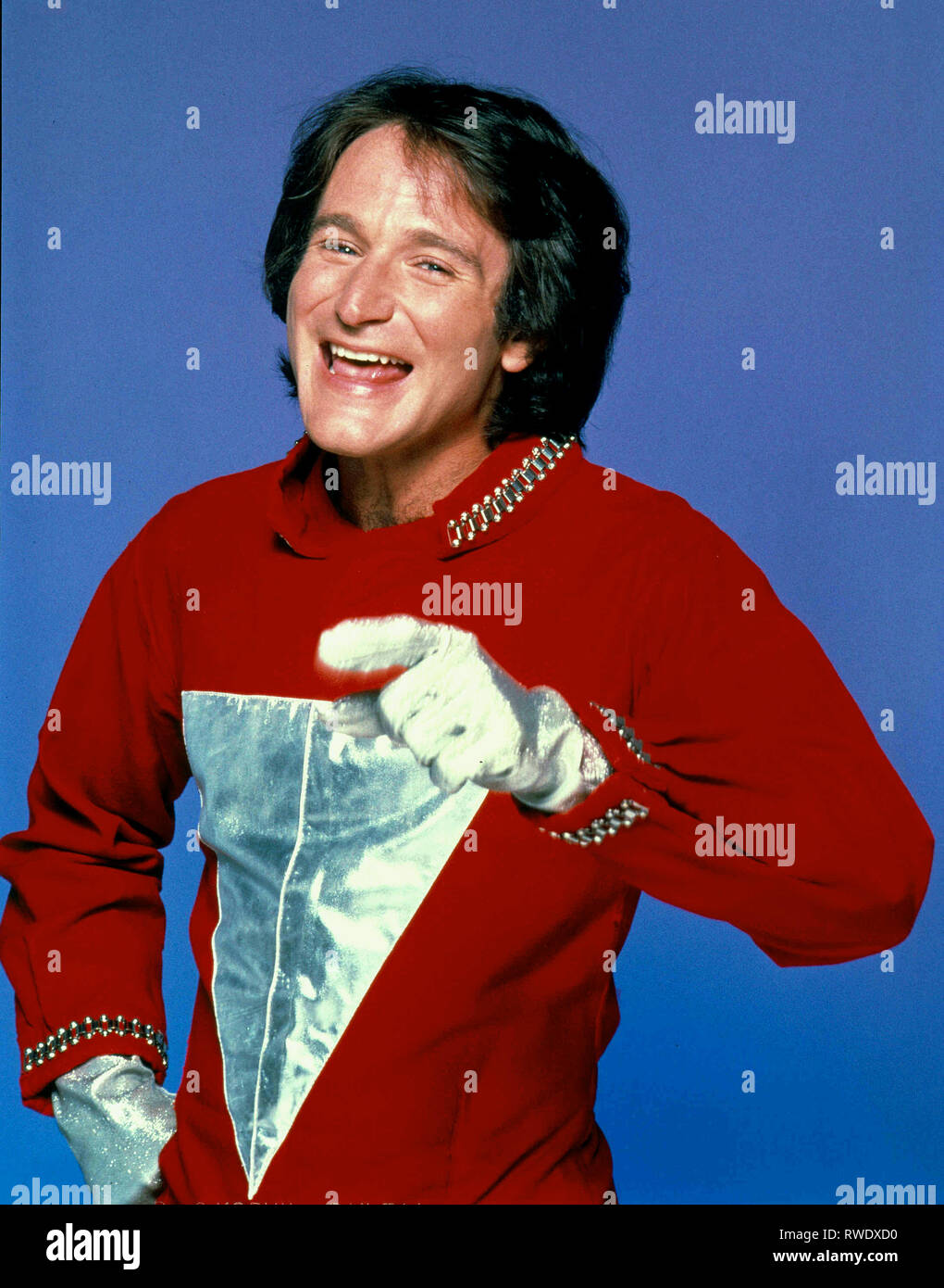 ROBIN WILLIAMS, MORK and MINDY, 1978 - Stock Image