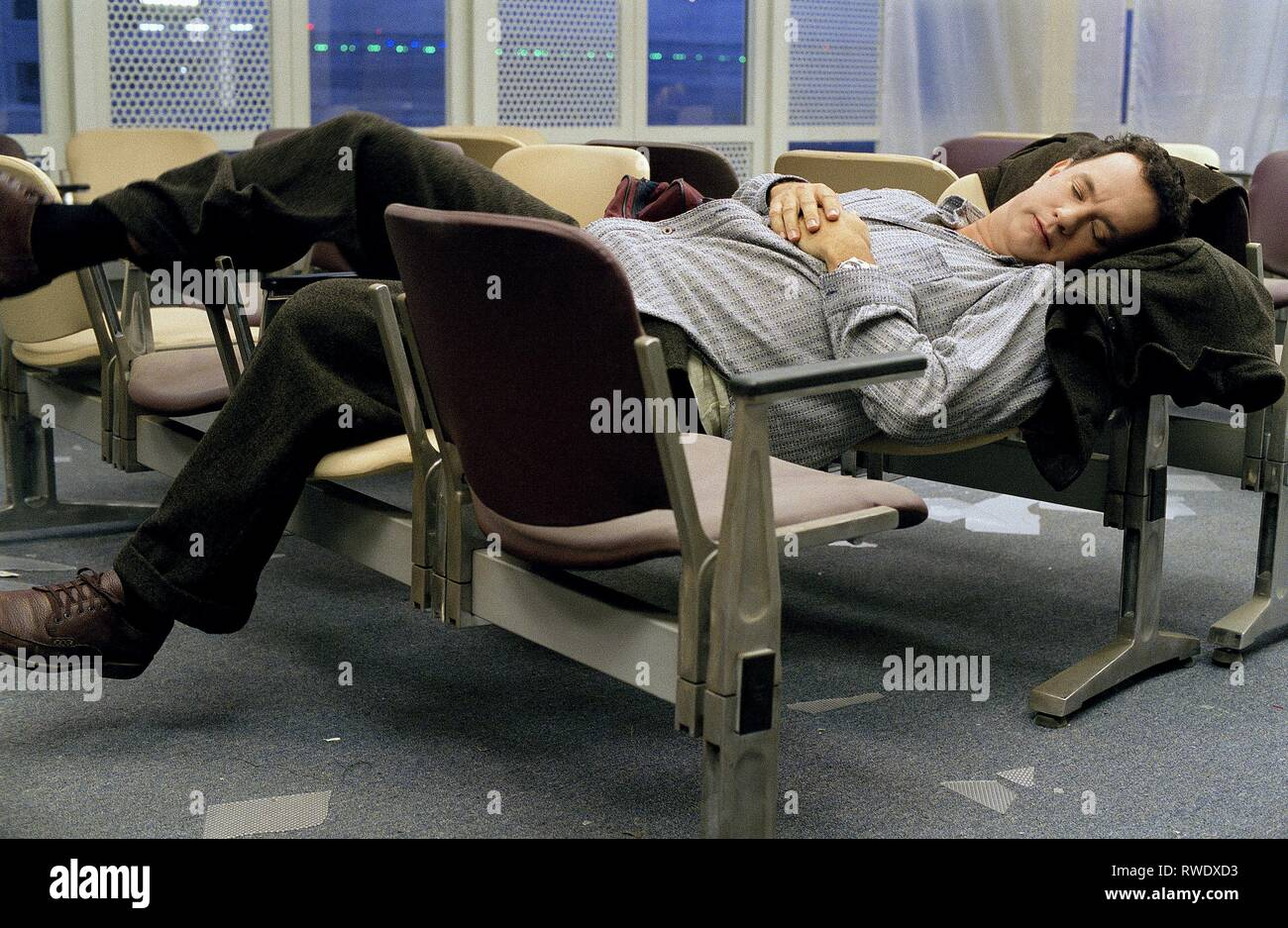 TOM HANKS, THE TERMINAL, 2004 - Stock Image
