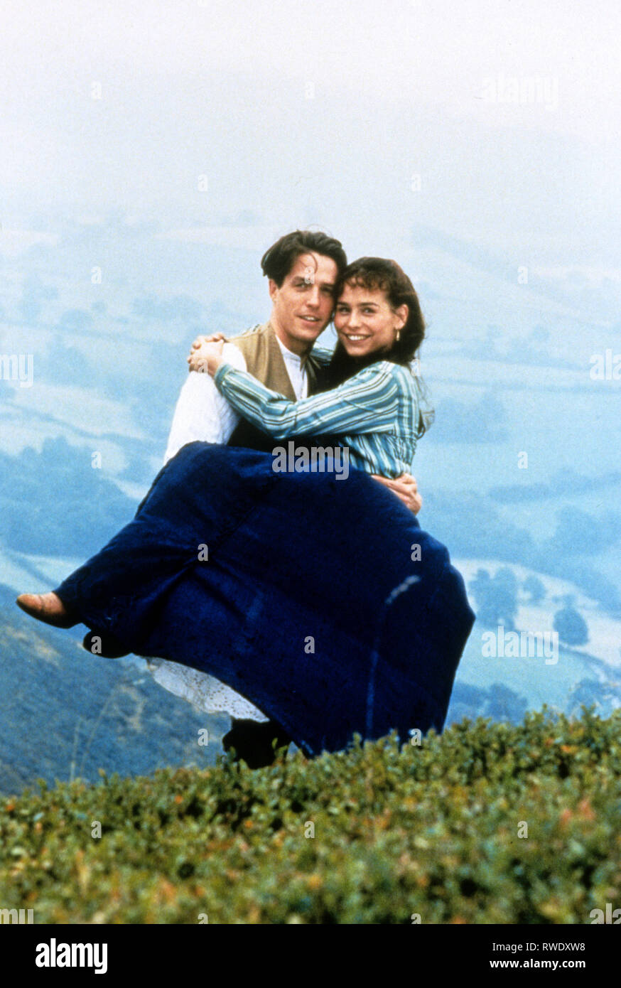 GRANT,FITZGERALD, THE ENGLISHMAN WHO WENT UP A HILL BUT CAME DOWN A MOUNTAIN, 1995 - Stock Image